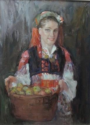 """Miloš Bojović - Ulje na platnu 16 x 20"""" ($400)"""