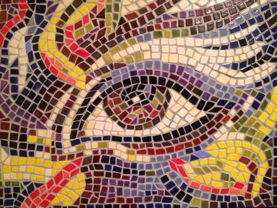 "Dušan Marković - Mozaik keramika 18 x 24"" ($500)"