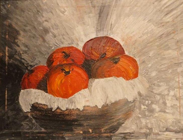 Masha Milidrag - Ulje na platnu 44 x 36 cm  ($300)