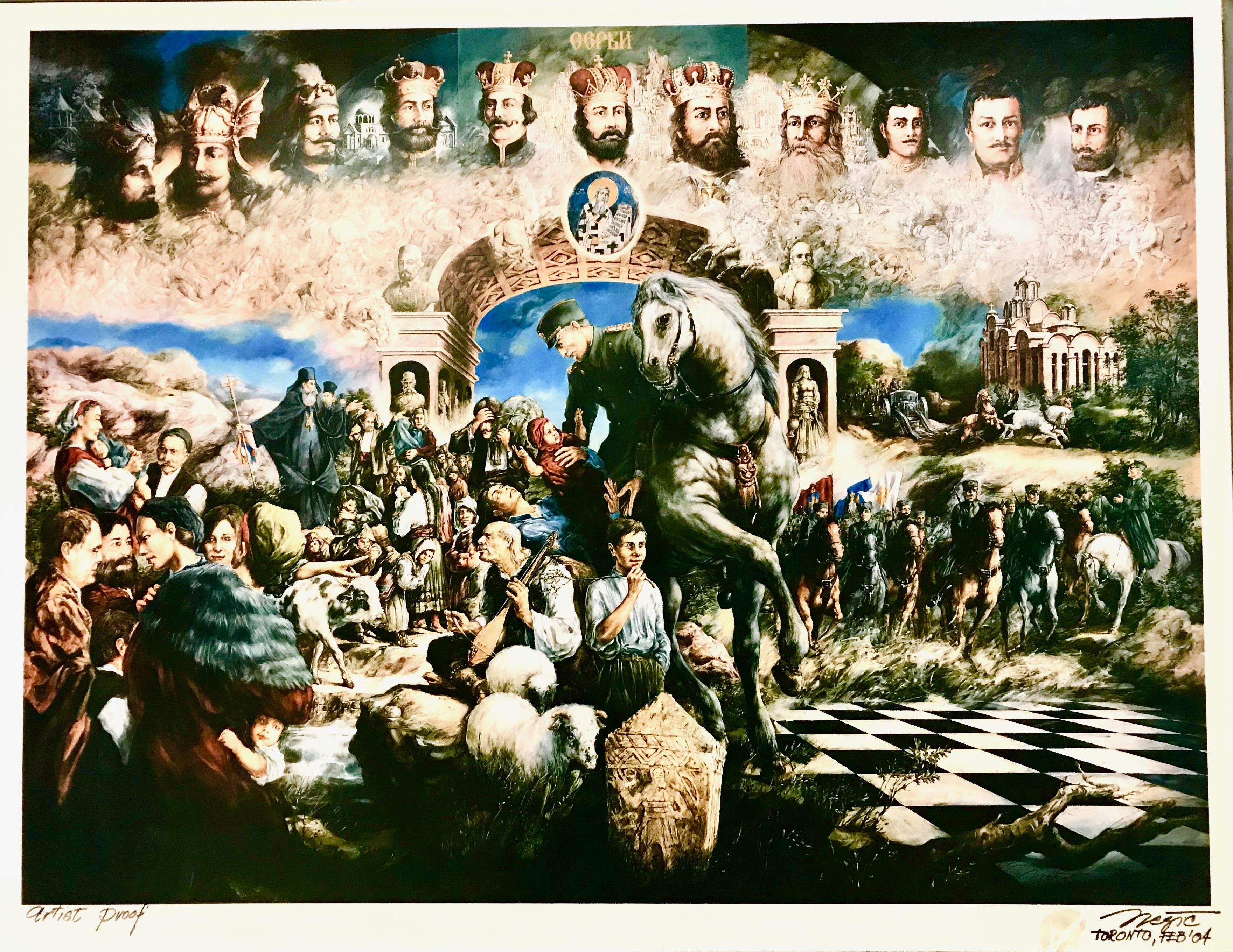 Miroslav Nešić - Limited edition poster  90cm x 70cm ($40)