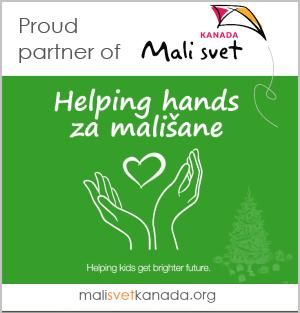 partner ikona Mali svet Kanada Helpin handas za malisane